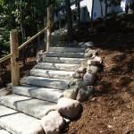 Steps on Slope